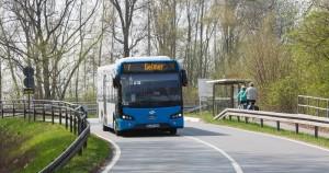 Neue Stadtwerke-Busse der Firma VDL; Foto: Peter Leßmann