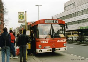 Bus der Verkehrsbetriebe Bild in Berlin (Foto: Michael Müller, Traditionsbus Berlin)