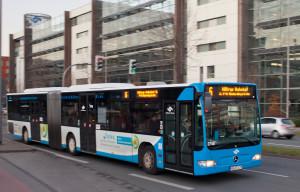 Linie 6 auf dem Albersloher Weg