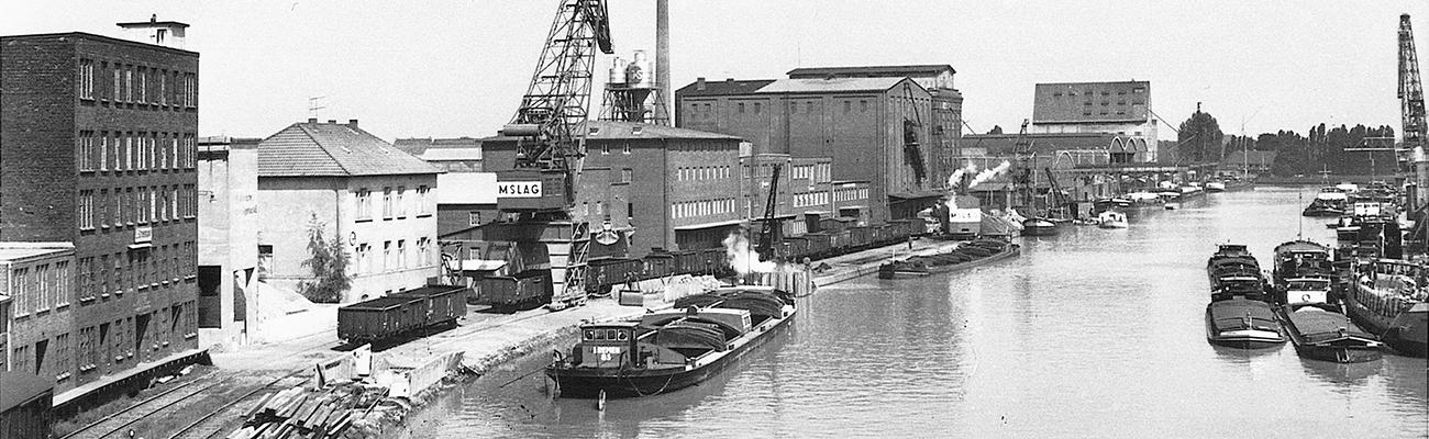 Bühne Hafen 1961