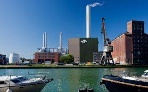 GuD-Kraftwerk am Hafen