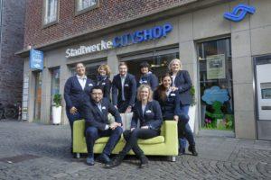 Das Team vom Cityshop Foto: Münsterview/Tronquet