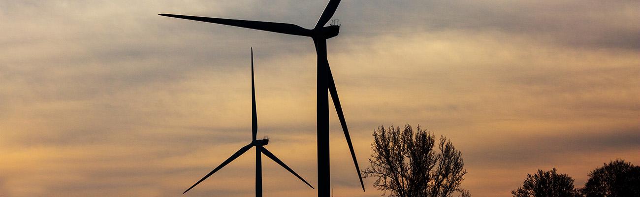 Bühne Windenergie