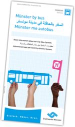 Flyer Münster by bus