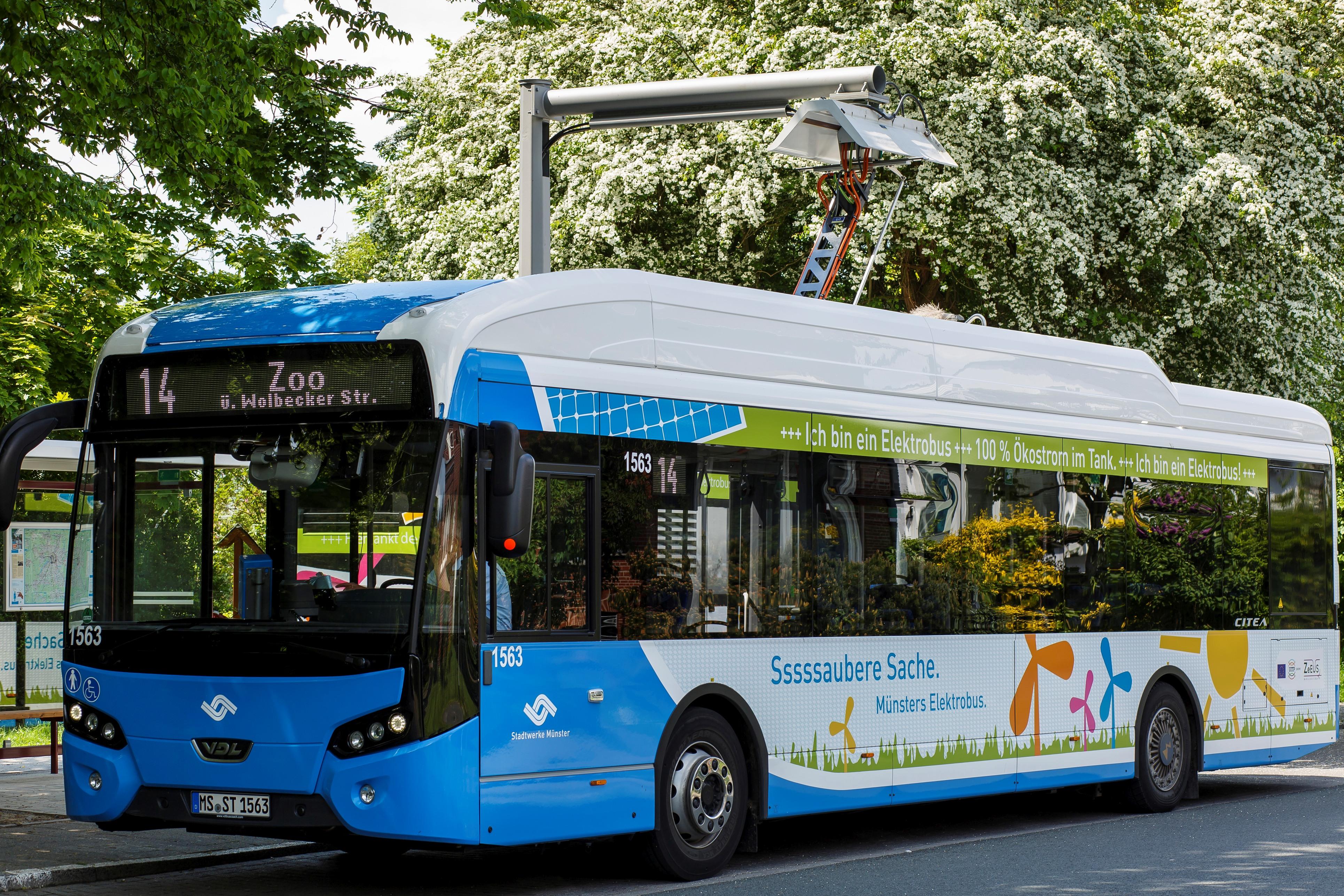 Langfristige Umleitung für Linie 14 in Mauritz - Stadtwerke Münster