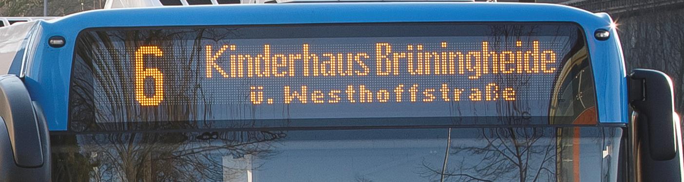 Busfahren In Münster Stadtwerke Münster