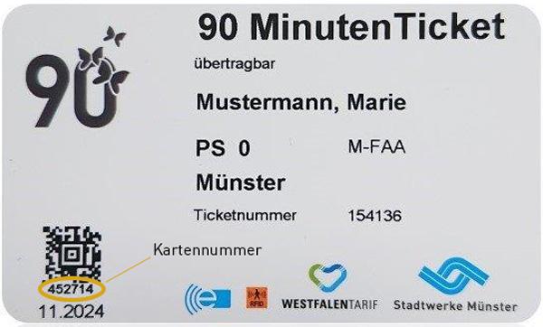 Kartennummer Kartennummer